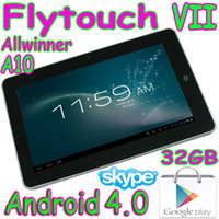 Wholesale 32GB Flytouch Allwinner A10 quot touch screen Android webcam HDMI tablet pc GB RAM Superpad