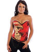 Wholesale More colors Sexy Lingerie Black corset basques bustier Club Wear Party Dress A2269 S XL