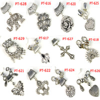 Wholesale Mixed designs charm sets Fashion DIY scarf jewelry Pendant accessories each PT