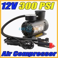 Wholesale 12V PSI Portable Auto Electric Car Pump Air Compressor Tire Inflator Tool