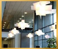 Wholesale New Modern white Large Big Bang Suspension Acrylic Aluminium Light Pendant Lamp Chandelier for bedr