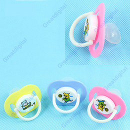 Wholesale 30pcs New Health Baby Pacifier Dummy Soother Nipple Cartoon Shape Comforts Multicolor