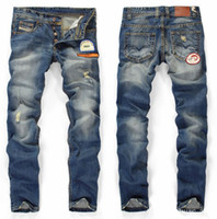 Jeans Men Classic Straight Wholesale & retail - Hot sell !! new 2012 brand jean fashion men's jeans DS954A
