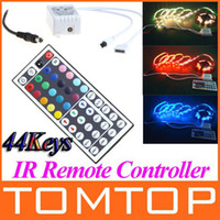 Wholesale V Keys IR Remote Controller for RGB SMD LED Strip string Light H8807