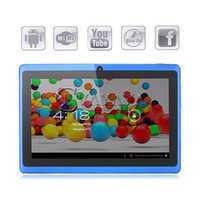 Wholesale Q88 In Stock inch Allwinner A13 Android Tablet PC F1 MB GB Camera G Wifi Flash
