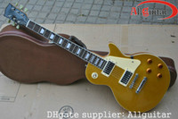 Wholesale Custom Shop Goldtop Electric Guitar Rosewood Fretboard Chinese guitar