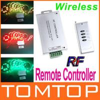 rf light wireless remote control - 12 V Wireless RF Remote Controller Keys for RGB LED Strip Light H8808