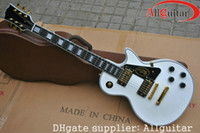 Wholesale Custom Shop Alpine white ebony fingerboard Electric Guitar Chinese guitar