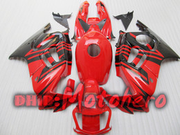 Full Fairing kit for honda CBR600F3 95-96 CBR600 F3 1995 1996 CBR 600 F3 95 96 red black +windscreen