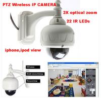Wholesale PTZ Wireless IP WaterProof Outdoor X Dome Camera IR Night Vision WiFi Webcam