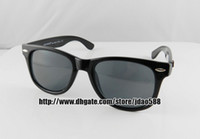 Wholesale 1 pair New Arrival Fashion Designer Sunglasses Black Frame Mens Womens Sunglasses Glasses R140
