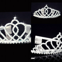 Cheap Crown bridal accessories Best Rhinestone/Crystal  hair accessories