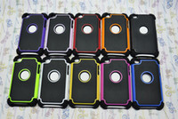 Wholesale TRIPLE layer COMBO hybrid HARD CASE cover for ipod touch th g gen