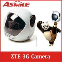 Wholesale 3G remote camera WCDMA ZTE MF58 security CCTV camera with way video call G dome cam
