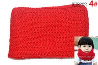 balaclava girl - Knitted on Hand Knitting Hand Crochet Chenille Balaclava Neck Warmer Hood Scarf Baby Boys Girls