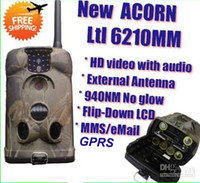 Wholesale Ltl Acorn MM HD P Video MMS hunting trail camera GPRS Scouting Camera with external antenna