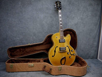 Semi-Hollow Body chinese guitars - best Newest Chinese s CE D Archtop Electric Guitar Blonde