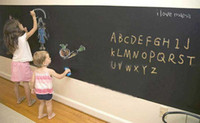 Wholesale 45 cm vinyl peel and blackboard stick removable wall decal chalkboard stickers