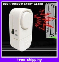 Wholesale Novelty Magnetic Sensor Door Window Entry Alarm Chime Burglar Reminder Security Devices Good Quality
