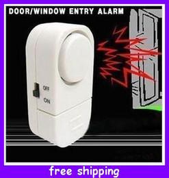 Entrée de la porte de sécurité à vendre-Nouveauté Sécurité magnétique porte fenêtre du capteur Entrée alarme antivol Chime Rappel Devices Bonne Qualité