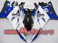 Wholesale White bule for SUZUKI K4 GSXR GSX R600 GSX R750 GSXR600 GSXR750 K4 fairing