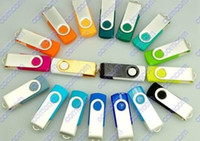 Wholesale swivel USB usb flash drives memory sticks GB Pen Drive custom logo thumbdrives pendrives
