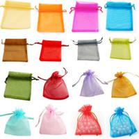 Wholesale 600 Organza Gift Bag Wedding Favor Christmas Party X9 cm Bags Mix Color or Choose Color