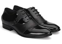 Wholesale best selling black dermis man Britpop Leather shoes Men dress shoes Wedding shoes
