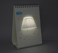 Wholesale page by page lamp table led usb night light Calendar lamp
