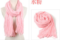 Wholesale new style scarf winter fashion cotton scarfs