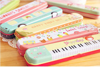 Wholesale Pencil Pen Case Box Holder Pouch Gift Stationery School New Cute Cartoon
