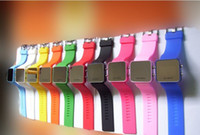 Wholesale 10 pc Plastic Led Mirror Watch with Red LED Light