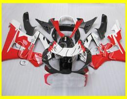 Red White Black Full Fairing kit For HONDA CBR900RR 00 01 CBR-900RR CBR 900RR 929 2000 2001 Injection mold Fairings set