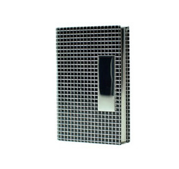Business card holders magnetic stainless steel lattice business card holder 30 pcs  lot