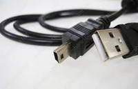 Wholesale Hot selling mini USB Camera Cables USB Data Cable for Nikon E4 P D100 D200 D300 D700 D3000