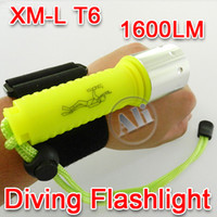 Wholesale CREE XM L XML T6 LED Waterproof Diving Flashlight Torch LM NEW