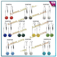 Wholesale 2012 Fashion Jewelry Coil Earrings pairs Mix Option SHFHmix1