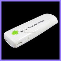 HDMI  AVI Google PC smart TV Box cloud stick IPTV C77 dongle Android 4.0 TCC8925 1GHZ 4GB wifi HDMI 2pcs