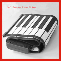 Wholesale Hot Key Keys Digital Roll up Soft Keyboard Piano With MIDI Electronic Organ christmas gift