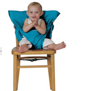 Wholesale 9 Colors Safety Portable Eat Chair Safety Simple Comfortable Infant Seat Belts Child Baby Chair Belt