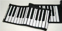 Wholesale retail Keys Digital Roll up Soft Keyboard Piano With MIDI Electronic Organ dropshipping christmas