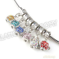 Wholesale New Mix Style Teapot Pendant Silver Plated Alloy Fit Jewelry Making