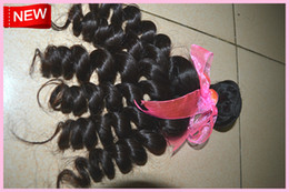 Wholesale New products baby curly remy virgin Brazilian hair weft