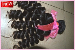 Wholesale New products Same lenghts baby curly remy virgin Brazilian hair weft