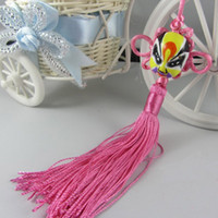 Wholesale Chinese traditional Beijing Opera Facial Masks Chinese knot Car Hang Decoration characteristic hot