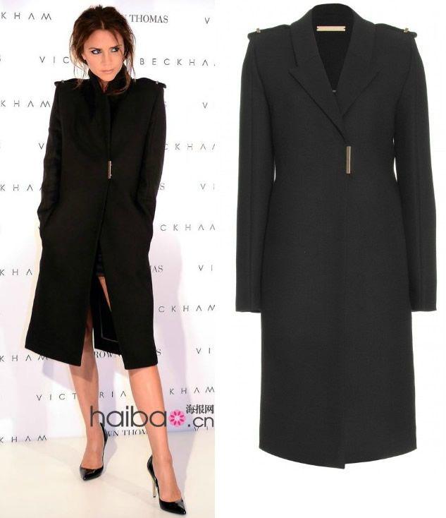 Discount Black Wool Trench Coat Women   2017 Black Wool Trench