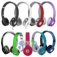 Wholesale Stereo Headphones On Ear With ControlTalk In Line Mic Volume Track Up Track Down