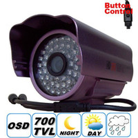 Wholesale Effio e TVL Surveillance outdoor Bullet camera IR Infrared LED D N Vision IR LEDs mm lens CCTV Waterproof camera