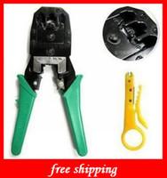 Wholesale Networking amp Communications RJ45 RJ11 RJ12 Wire Cable Crimper Crimp PC Network Tool