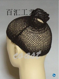Wholesale Cheap Hot Selling Fashion And Popular Open And Black Mesh Net Wig Cap Liner